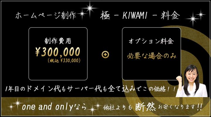 極-KIWAMI-料金